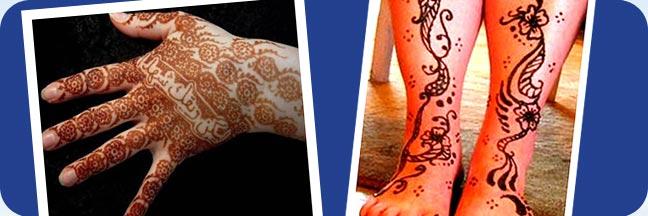 Henna tattoo in atlantic city nj