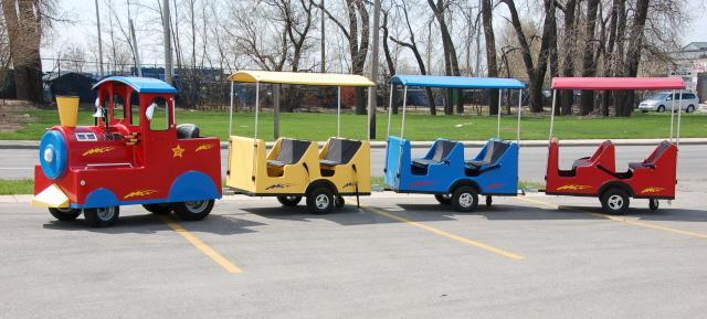 Trackless Train Rental VA